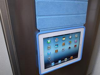Smart Caseを使ってiPadを冷蔵庫に貼る