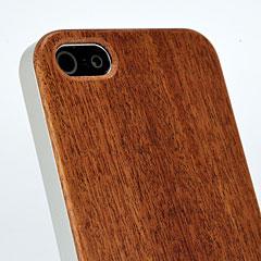 ハイブリッドウッドケース for iPhone 5