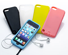 Simplism Silicone Case Set for iPod touch (5th)