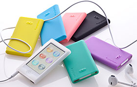 Simplism Silicone Case Set for iPod nano (7th)