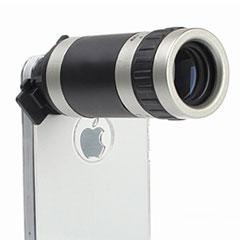 iPhone 5用望遠鏡+専用ケース