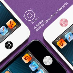 SPIGEN SGP アルミニウム ホームボタン for iPhone & iPad