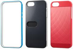 SoftBank SELECTION フレームケース/カードホルダーケース/アルミプレートケース for iPhone 5