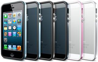 SPIGEN SGP iPhone 5 ケース ネオ・ハイブリッド EX メタルシリーズ