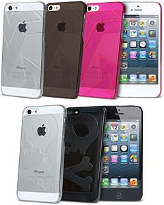 AViiQ Star/Jack 5 Crystal Case for iPhone 5