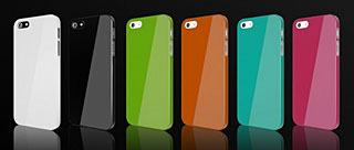 CAZE Zero 5(0.5mm)UltraThin Color for iPhone 5