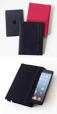 iPad mini + iPhone 帆布10ケース/MOLESKINE 帆布10カバー with iPad mini