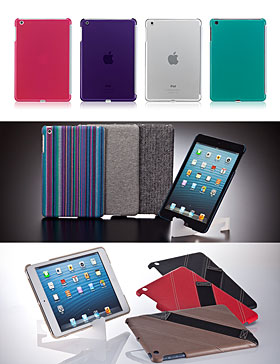 Smart BACK Cover for iPad miniほか