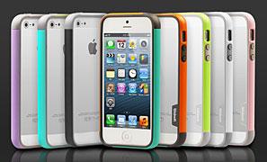 Walnutt iPhone 5 Bumper Trio case