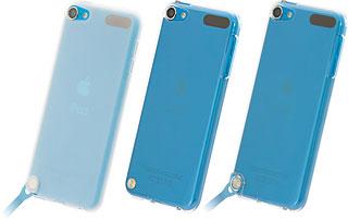 シリコーンジャケットセット/エアージャケットセット for iPod touch 5th