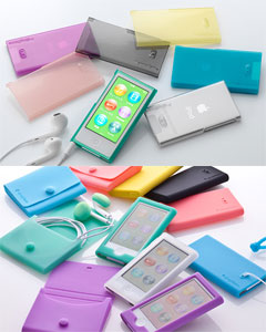 Simplism Crystal Cover Set/Starter Pack for iPod nano (7th)