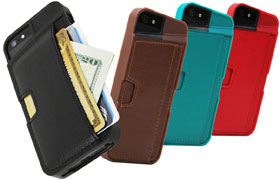 Qcard case for iPhone 5
