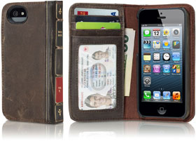 Twelve South BookBook for iPhone 5 (Brown)