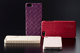 Jigen Series 3D Textured Cover for iPhone 5
