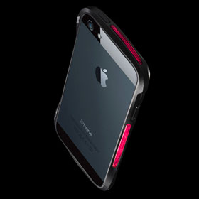 CLEAVE ALUMINUM BUMPER Mighty for iPhone 5