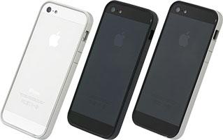 パワーサポート フラットバンパーセット for iPhone 5