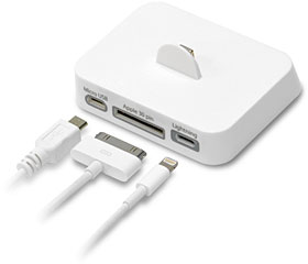iPhone5 用 3マルチ 充電スタンド