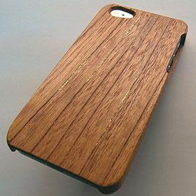 iPhone 5用木製ケース「木精」