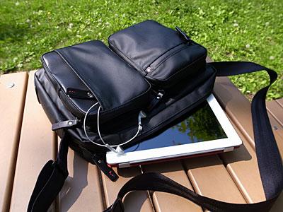 タブレットのための小型ショルダーバッグ