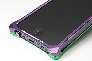 Solid Bumper for iPhone5 (EVANGELION Limited)