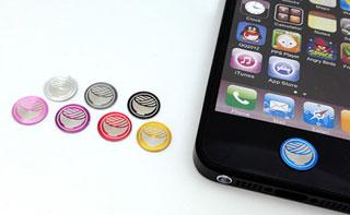 iPhone・iPad用オリジナルホームボタンシールプリントサービス