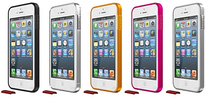 ThinEdge frame case for iPhone 5