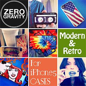 ZERO GRAVITY iPhone 5用ハードケース