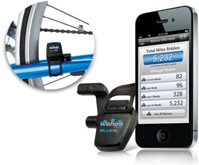 Wahoo Fitness スピード・ケイデンスセンサー Blue SC for iPhone