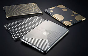 Simplism Floating Pattern Cover Set for iPad mini