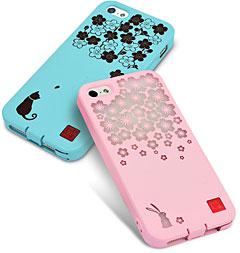和彩美「ふるる」iPhone 5用柔装飾カバー