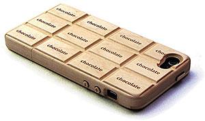 iPhone 5用 ホワイトチョコホ~Wood~