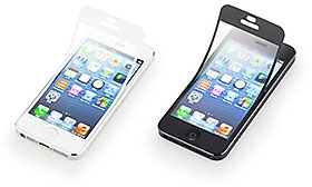 SoftBank SELECTION 気泡ゼロ 反射防止保護フィルム for iPhone 5