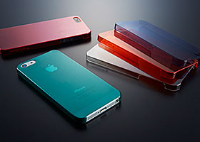 Simplism Ultra Thin Cover Set - Zero 4 for iPhone 5