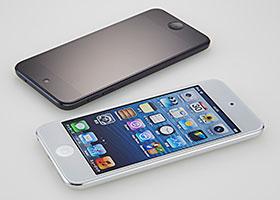 Simplism Blue Light Cut & Bubble-less Film Set for iPod touch (5th) Anti-glare