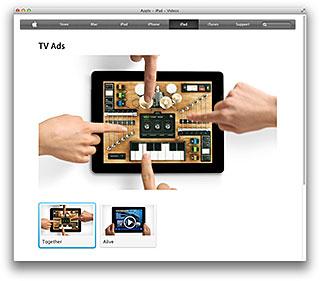 Apple - iPad - TV Ad - Together