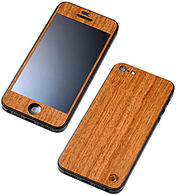 Deff WOODEN PLATE for iPhone 5 カリン