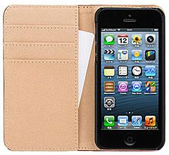 SoftBank SELECTION サイドフリップケース for iPhone 5