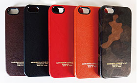 Matsushita Luggage iPhone 5 Leather case