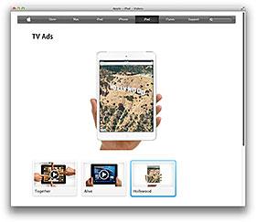 Apple – iPad – Videos