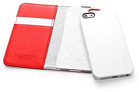 SPIGEN SGP iPhone 5 レザーウォレットケース スナップ