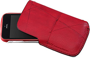 Deff SMARTPHONE Leather Sleeve Case
