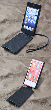 Noreve Perpetual Selection レザーケース for iPod touch(5th gen.)/iPod nano(7th gen.)