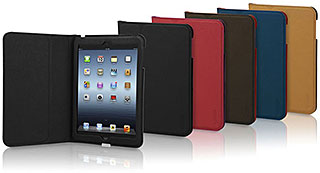 TUNEWEAR LeatherLOOK with Front cover for iPad mini