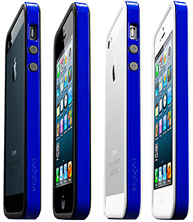 iPhone 5 ケース ネオ・ハイブリッドEX スリムシリーズ 日本限定モデル ロイヤル・ブルー