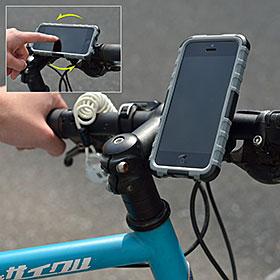 Rugged case + BikeMount for iPhone 5