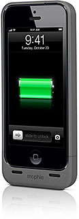 mophie juice pack helium for iPhone 5 Apple Storeモデル