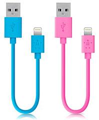 Belkin Lightning 同期 & 充電ケーブル Blue/Pink