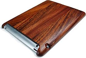 iPad 4 Retina 木製タブレットケース