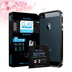 SPIGEN SGP iPhone 5 ケース トータルコーディネートセット