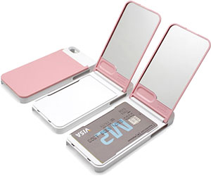 ONE%+ Duo Mirror Card Case for iPhone 5